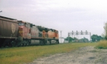 BNSF Eastbound Grain